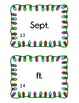 Abbreviation Scoot - Holiday Theme