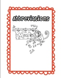 Abbreviation Sorting - Days and Titles