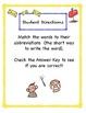 Abbreviation Station: An Abbreviation Matching Game/ Literacy Center
