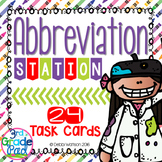 Abbreviation Task Cards