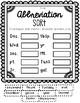 Abbreviation Stations