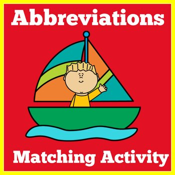 ABBREVIATIONS ACTIVITY