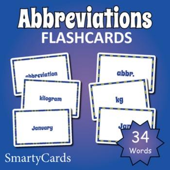 Common Abbreviations Flashcards