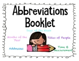 Abbreviations Booklet