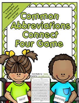 Abbreviations - Connect Four in a Row Game