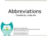 Abbreviations {FREEBIE}