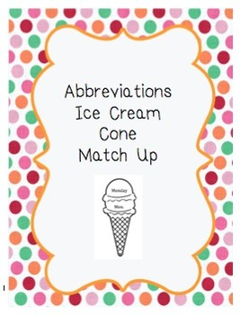 Abbreviations Match Up