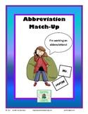 Abbreviations Match Up