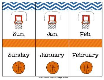 Abbreviations Slam Dunk! Basketball Game (3rd Grade Reading Street 2011)