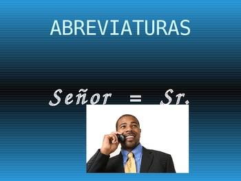 Abbreviations Sp.
