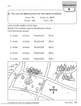 Abbreviations: Titles of People & Place Names