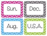 Abbreviations Word Wall Cards