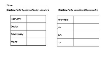 Abbreviations and Sentence Combining