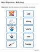 Abby Explorer Grammar - First Level: More Adjectives - Matching