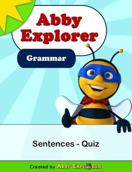 Abby Explorer Grammar - First Level: Sentences - Quiz