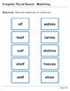 Abby Explorer Grammar - Second Level: Irregular Plural Nou