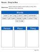 Abby Explorer Grammar - Second Level: Nouns - Write in Box