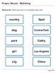 Abby Explorer Grammar - Second Level: Proper Nouns - Matching
