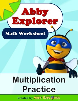 Abby Explorer Math - Multiplication Practice