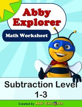 Abby Explorer Math - Subtraction : Level 1-3
