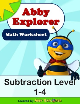 Abby Explorer Math - Subtraction : Level 1-4