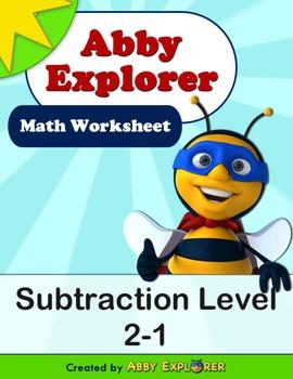 Abby Explorer Math - Subtraction : Level 2-1