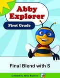Abby Explorer Phonics - First Grade: Final Blend with Letter S Series