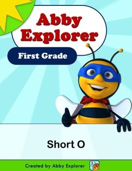 Abby Explorer Phonics - First Grade: Short O Series