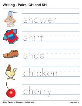 Abby Explorer Phonics - First Grade:Ch and Sh Series