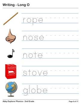 Abby Explorer Phonics - Second Grade: Long O Series