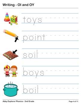 Abby Explorer Phonics - Second Grade: OI and OY Series