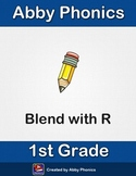 Abby Phonics - First Grade - Constant Blend with the Letter R Series