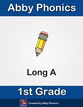 Abby Phonics - First Grade - Long A Series