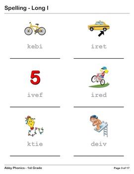 Abby Phonics - First Grade - Long I Series