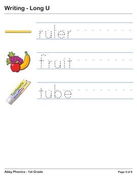 Abby Phonics - First Grade - Long U Series