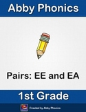 Abby Phonics - First Grade - Vowel Pairs: EE and EA Series