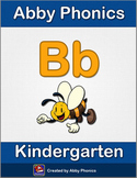 Abby Phonics - Kindergarten - Letter B Series