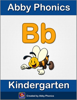 Abby Phonics - Kindergarten - Letter B Series