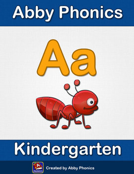 Abby Phonics - Kindergarten - The Letter A Series