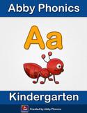 Abby Phonics - Kindergarten - The Letter A Series