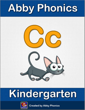 Abby Phonics - Kindergarten - The Letter C Series