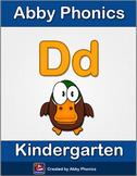Abby Phonics - Kindergarten - The Letter D Series