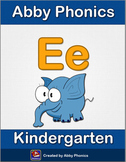 Abby Phonics - Kindergarten - The Letter E Series