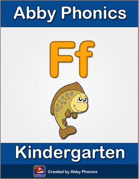 Abby Phonics - Kindergarten - The Letter F Series