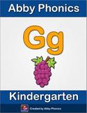 Abby Phonics - Kindergarten - The Letter G Series