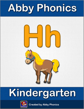 Abby Phonics - Kindergarten - The Letter H Series