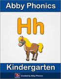 Abby Phonics - Kindergarten - The Letter H Series