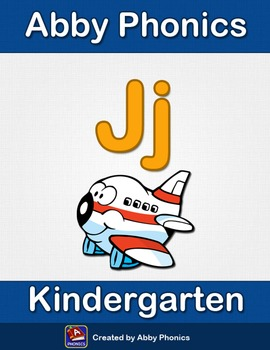 Abby Phonics - Kindergarten - The Letter J Series