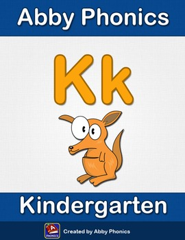 Abby Phonics - Kindergarten - The Letter K Series