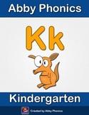 Abby Phonics - Kindergarten - The Letter K Series